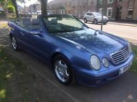 2001 51 Mercedes-Benz CLK230 Kompressor 2.3 auto CONVERTABLE