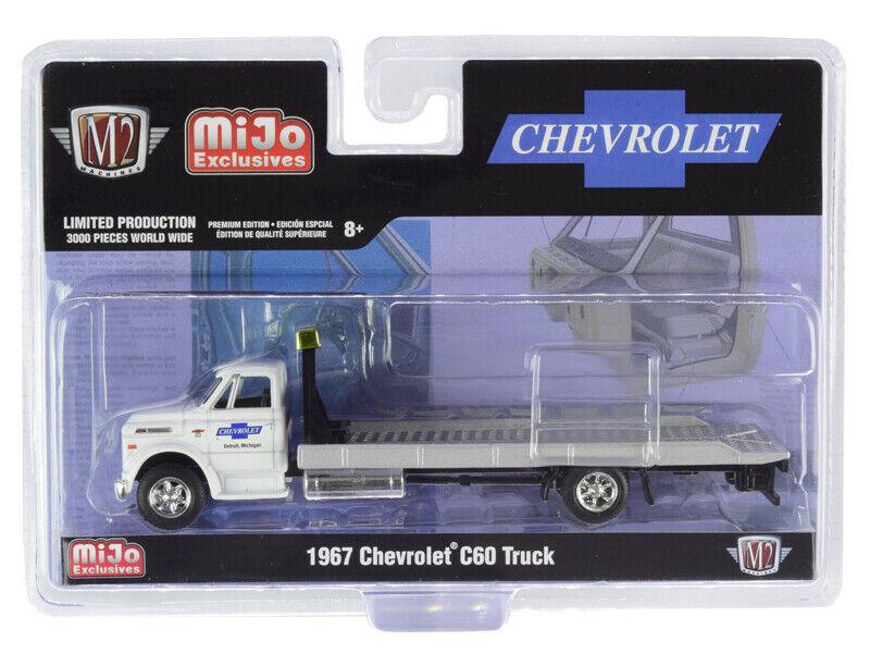 M2 Machines 1:64 Auto Trucks 1967 Chevrolet C60 Flatbed Truck