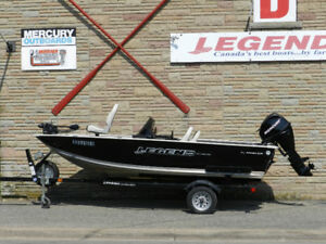 Legend 15 Angler, Mercury 25 4 stroke & Trailer