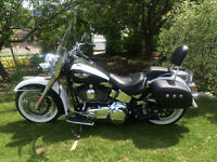 LIKE NEW 2007 SOFTAIL DELUXE