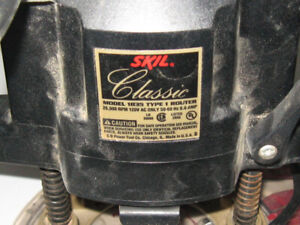 Skil Classic Model 1835 Type 1 Router