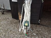 12v power fence & some stable tack racks and troths etc L@@K