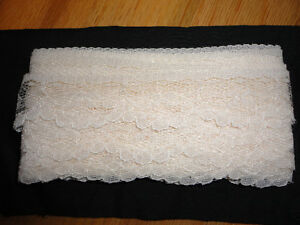 Vintage white lace sewing crafts London Ontario image 2