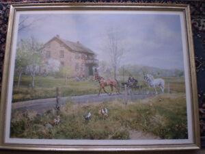 "Peter Etril Snyder ""Home From The Auction"" Limited Edition Print"