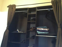 HUGE STORAGE in built-in style wardrobe that takes up min. space