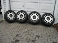 C4 CORVETTE wheels and tires--16 inch