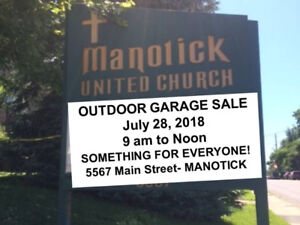 OUTDOOR GARAGE SALE