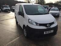 Nissan NV200 1.5dCi ( 89bhp ) Acenta 2014 14 reg 1 owner with fsh