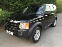 55 REG LAND ROVER DISCOVERY 3 2.7 TDV6 AUTOMATIC 7 SEATER 4X4 TURBO DIESEL