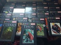Marvel graphics novels collection books