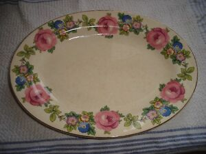 Antique Vintage K.T.&K. PLATTER