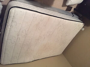 Pillow top twin mattress and box spring!! MOVING, BEST OFFER