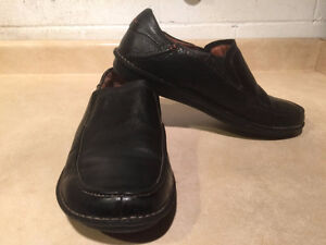 Men's Clarks Structured Slip-On Leather Shoes Size 12 London Ontario image 6
