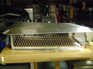 stainless steel chimney cover