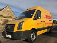 2011 VOLKSWAGEN CRAFTER 2.5 BLUE TDI CR35 HIGH ROOF MWB