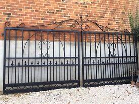 Wrought Iron Entrance Mansion Gates