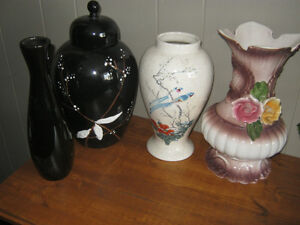 Assorted vases - $5 for all