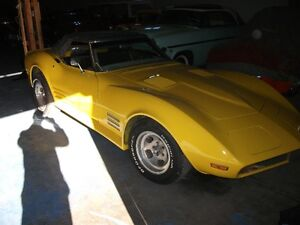 1972 Corvette Numbers Matching Car