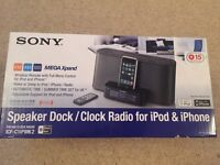 Sony iPod / iPhone dock