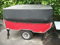 Petite tente roulotte pour moto et auto a vendre
