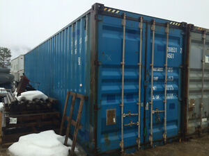 40 foot HC shipping container