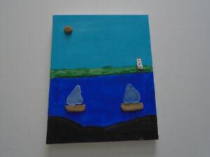 "Handmade Original Canvas Painting 8""x 10"" #2"