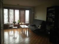 Large 3 1/2 Sublet - July and/or August - Outremont