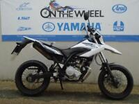 2011 YAMAHA WR 125 X WHITE/BLACK SUPERMOTO *HPI CLEAR*
