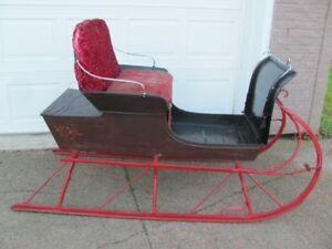 Antique horse drawn sleigh