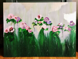 """An abstract floral piece. """"Valeria"""""""