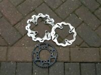 Pit bike discs