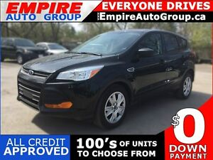 2014 FORD ESCAPE S * REAR VIEW CAMERA * BLUETOOTH * POWER GROUP London Ontario image 1