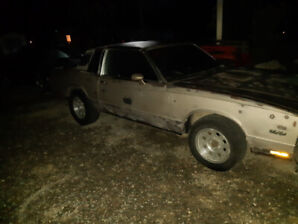 1984 monte carlo rolling chassis