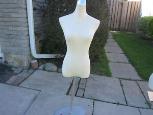 mannequin with stainless steels stand $43 reduced price