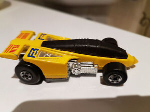 EXTREMELY RARE HOTWHEELS YELLOW SHADOW JET