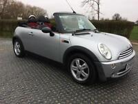 2006 (06) Mini 1.6 One Convertible, 1 Owner F/S/H Air/con Alloys Met Silver