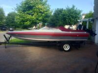 18.5' Panther Speed Boat w/ 200hp