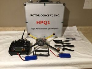 Rotor Concepts HPQ! Quadcopter