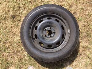 """4 pneus """"4 saisons"""" montés sur jantes pour VW Golf"""