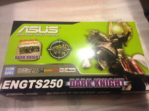 Video Card for desktop computer, ASUS, ENGTS250, 512MB