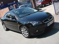 2007 57 PLATE Ford Focus CC 2.0 CC-2 Cab in Black