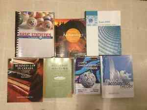 University or college text books Managment and first year books.