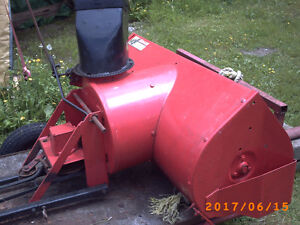 42 in Snowblower attachment
