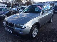 2006 BMW X3 2.0d SE 4 X 4 DIESEL SERVICE HISTORY 12 MONTHS WARRANTY AVAILABLE