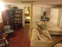 Short Term Rental: Clean, Quiet & Nicely Furnished Basement Apt