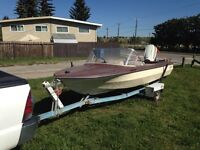 Boat priced for quick sale.