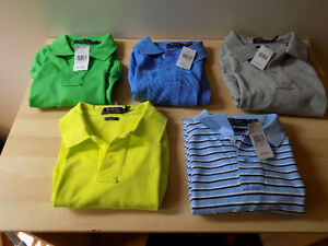 NEW WITH TAGS LOT OF 5 POLO RALPH LAUREN