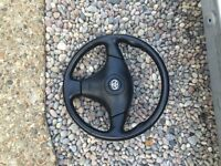 Toyota celica steering wheel and airbag