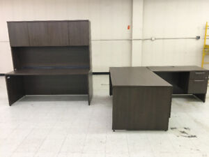 Assorted office furniture in excellent condition.