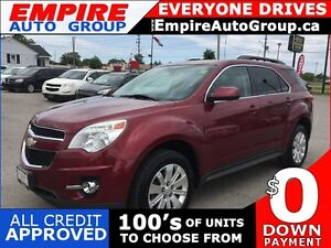 2011 CHEVROLET EQUINOX LT2 * REAR CAM * SUNROOF * BLUETOOTH * PR